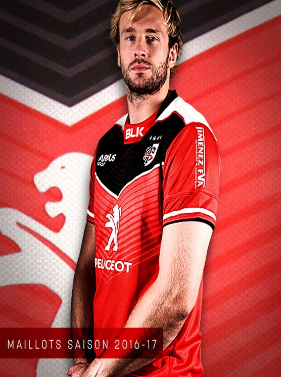 Toulouse Rugby Kit 2016 2017