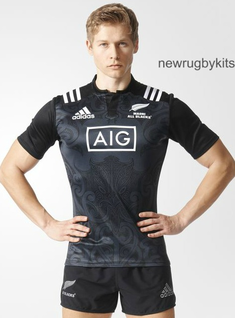 b2c928e41f0 New Maori All Blacks Jersey 2016-17 | Adidas Maori AB's Rugby Shirt ...