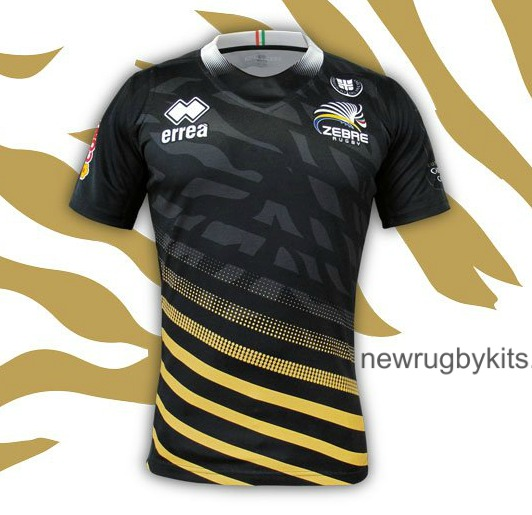 New Zebre Champions Cup Jersey 2016-17