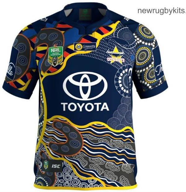 new products cf61d e35d4 New North Queensland Cowboys 2017 Jerseys- ISC Home Away ...