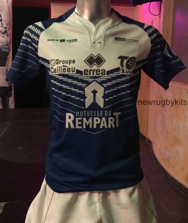 Toulouse Olympique Rugby League Kit 2017