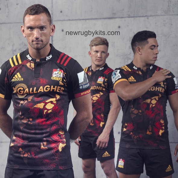 Chiefs Rugby Lions Tour Jersey 2017