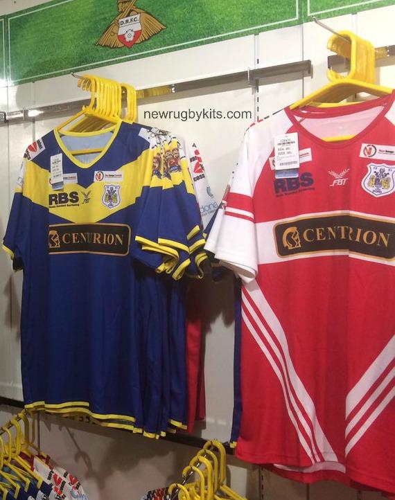 Doncaster RLFC Kit 2017 FBT