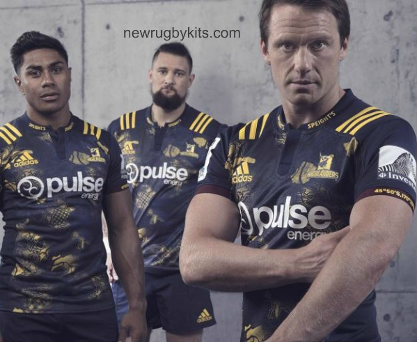 Highlanders Lions Tour Jersey 2017