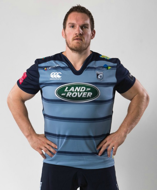 New Cardiff Blues Kit 2018
