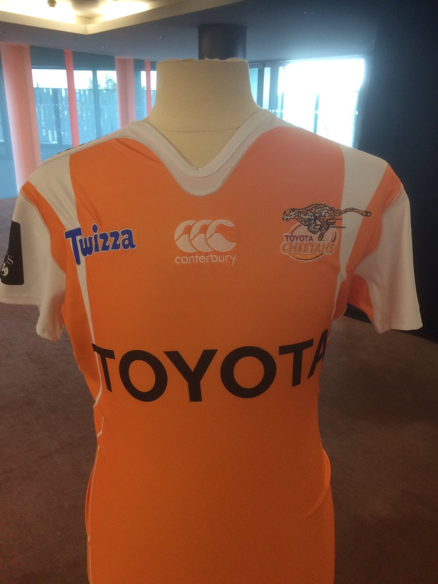 New Cheetahs Rugby Pro14 Shirt 2017