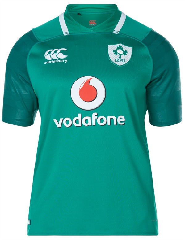 size 40 d7b07 4668e New Ireland Rugby Top 2017-2018 | Canterbury Irish Rugby Kit ...