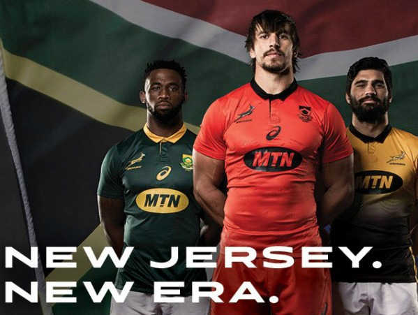 Red Springbok Jersey 2017 vs Argentina