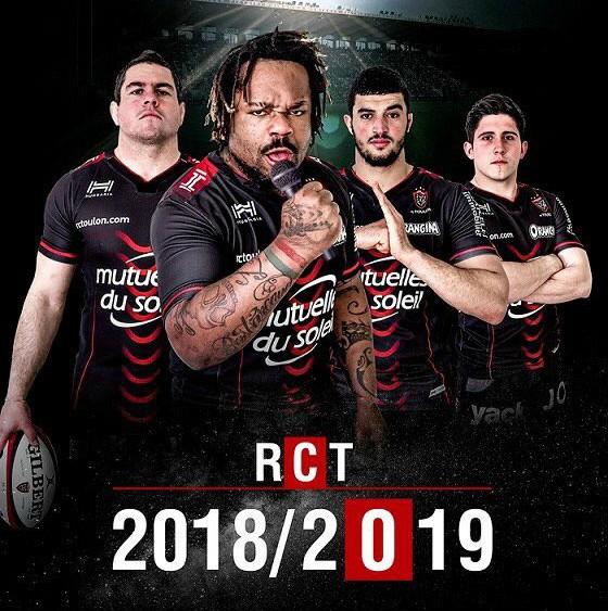 New Black Toulon Jersey 2018 2019