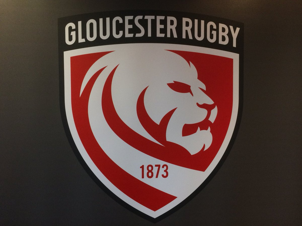 New Gloucester Rugby Badge 2018