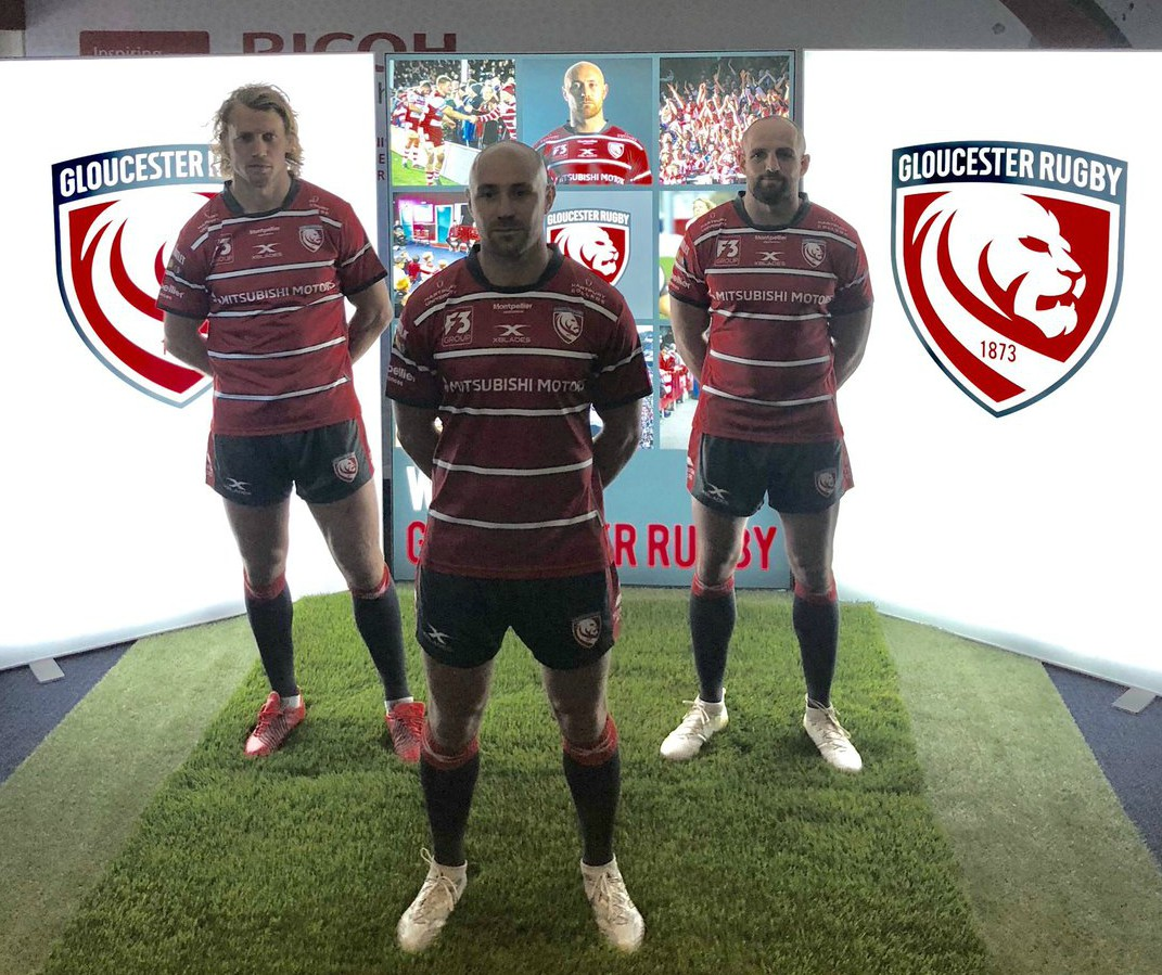New Gloucester Rugby Shirt 2018 19