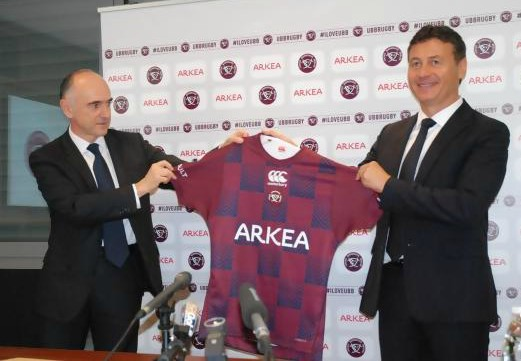 Bordeaux Rugby Canterbury Shirt 2018-19 New