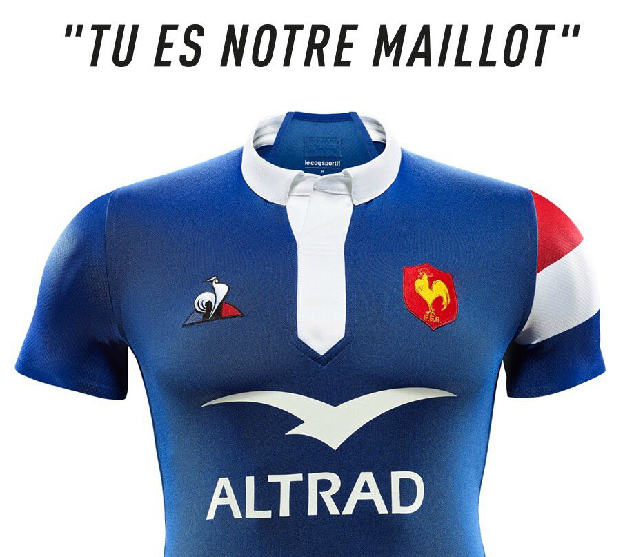 France Le Coq Sportif Rugby Kit 2018