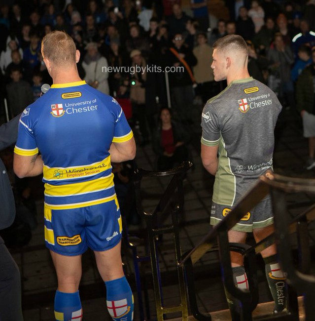 Back of Warrington Wolves Shirt 2019