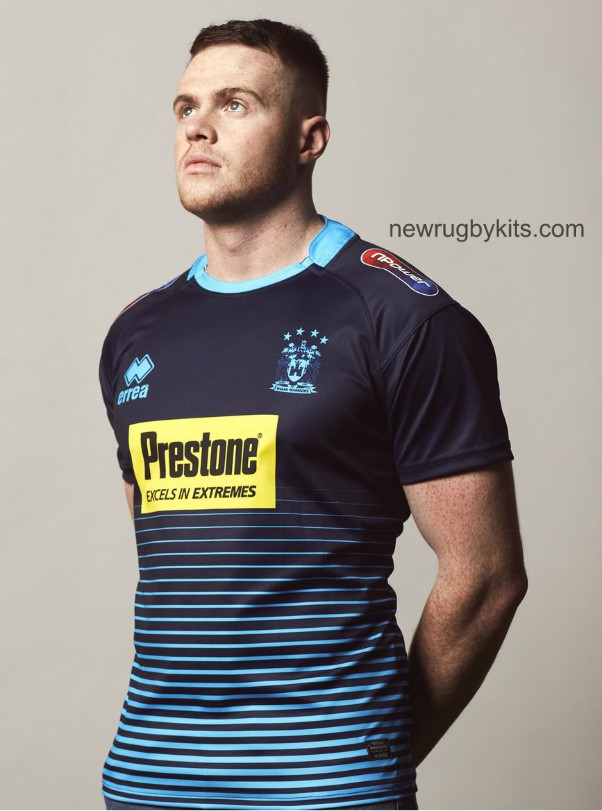 Blue Wigan Warriors Shirt 2019