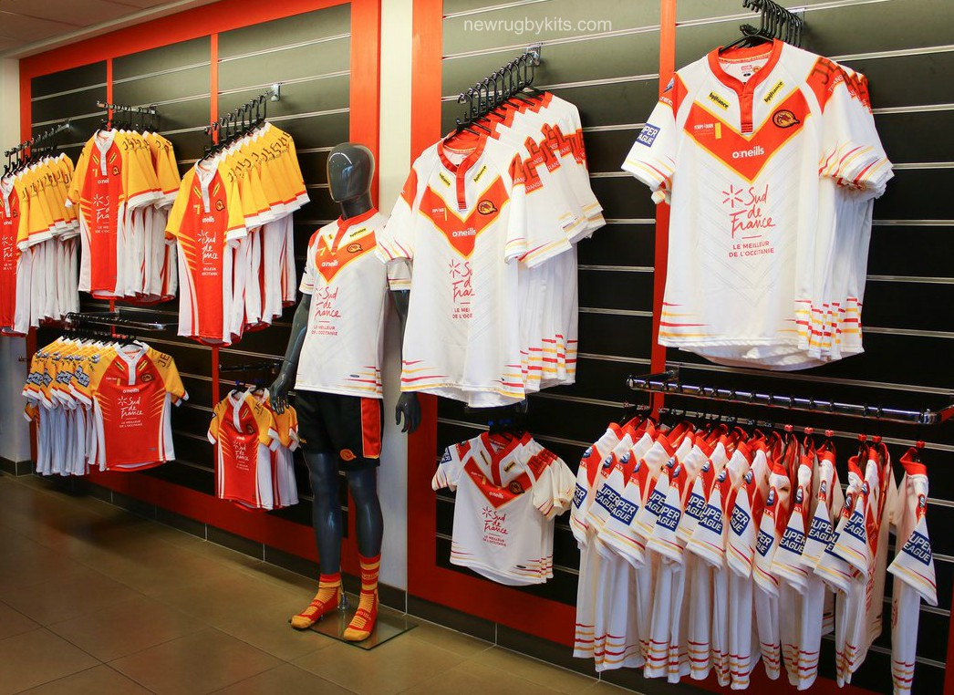 Dragons Catalans O'Neills Kit 2019