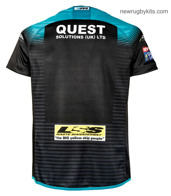 Back of Leeds Rhinos Away Kit 2019