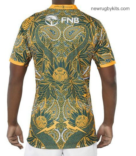 Back of SA Sevens Special Jersey 2018