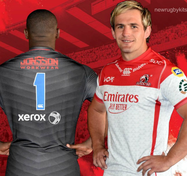 New Emirates Lions Super Rugby Shirt 2019