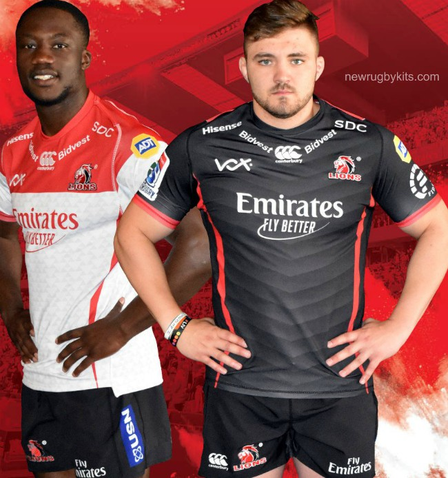 New Golden Lions Super Rugby Jersey 2019