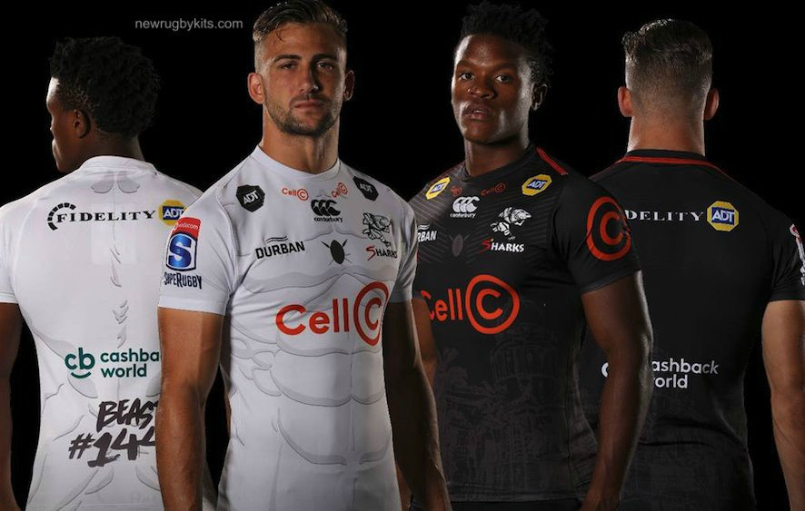 New Sharks Rugby Jersey 2019 Canterbury