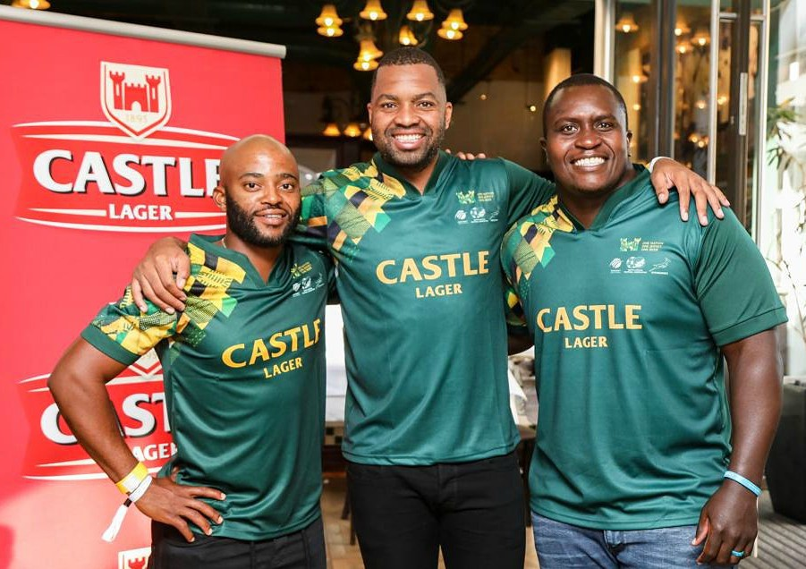 Castle Lager Supporter Jersey Cricket Rugby Football