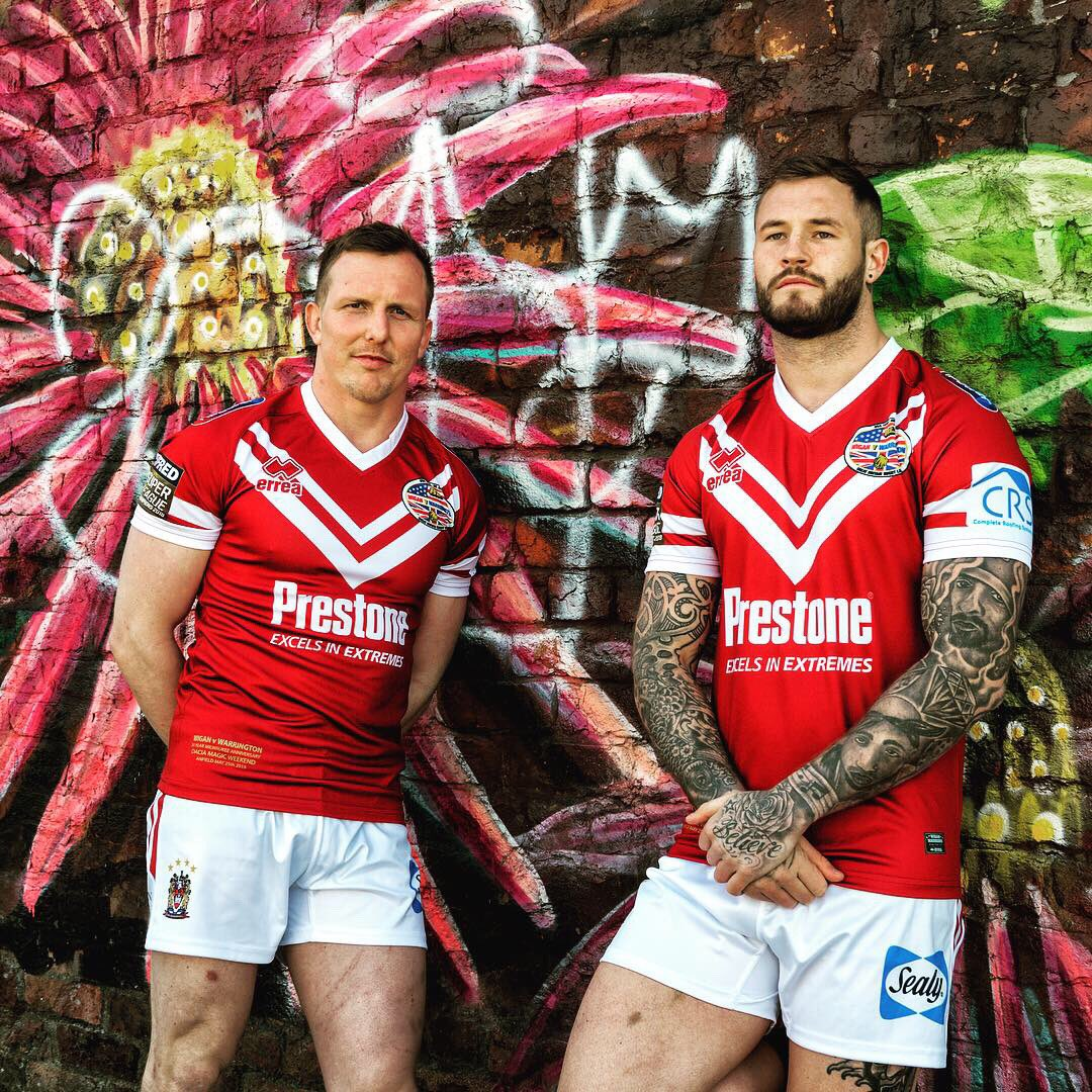 New Wigan RL Magic Weekend Shirt 2019