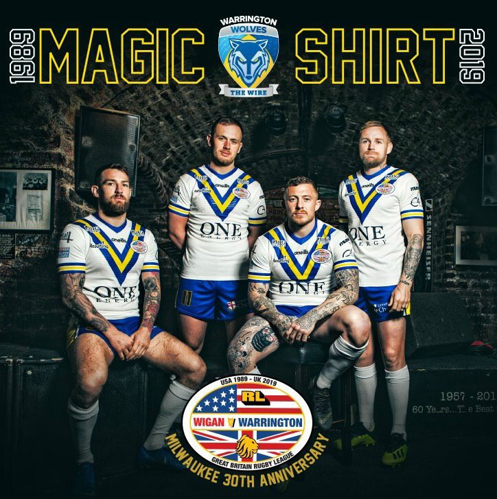Warrington Wolves Magic Weekend Shirt 2019