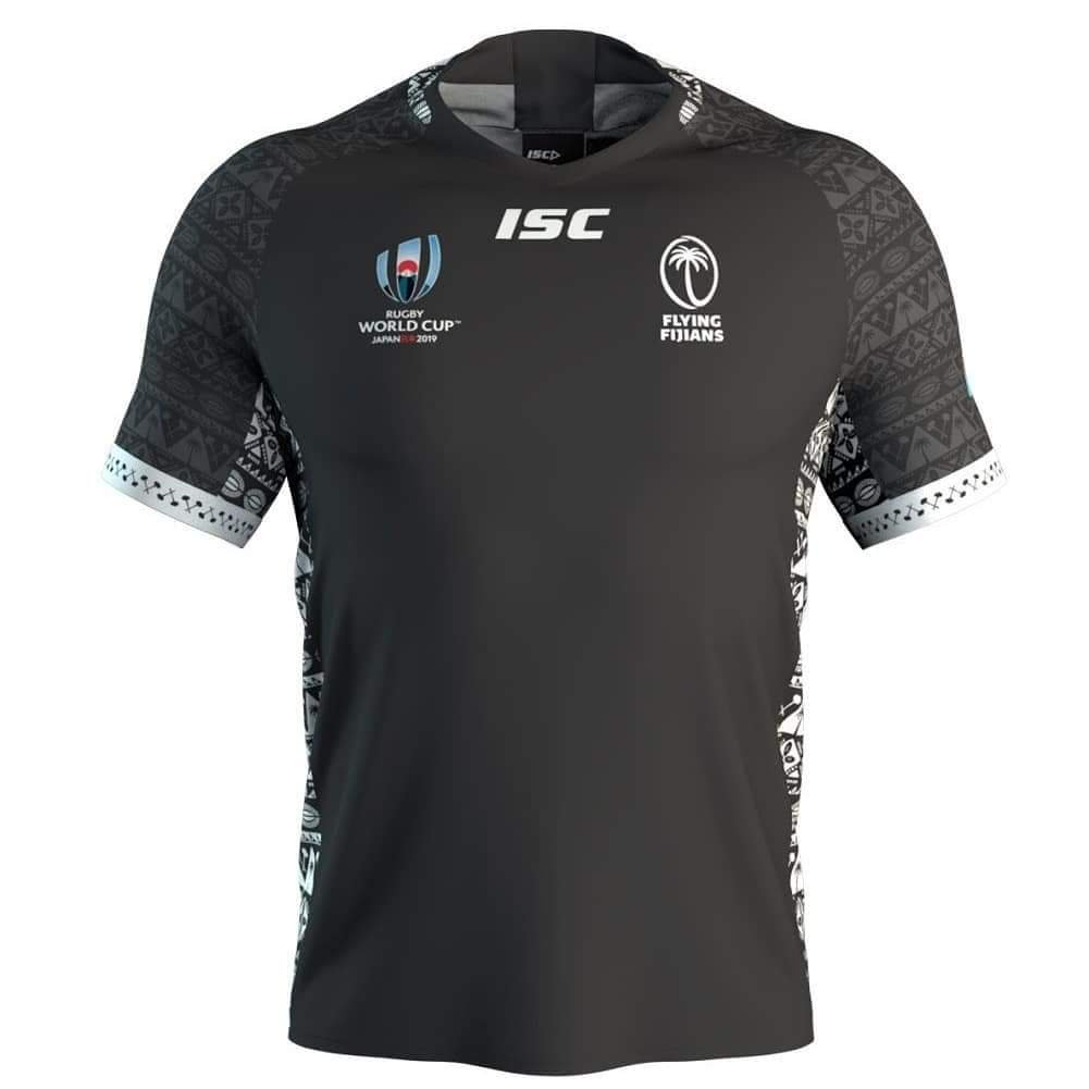 Black Fiji Away Shirt Rugby World Cup 2019