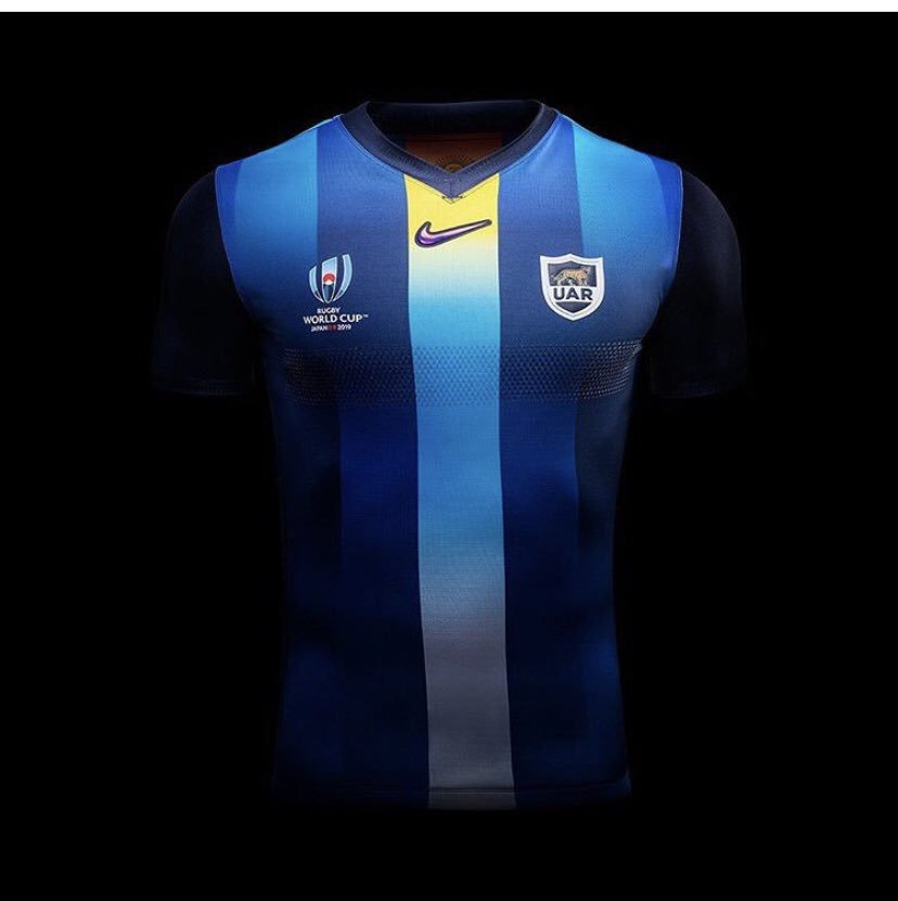 Blue Argentina Away RWC Shirt 2019