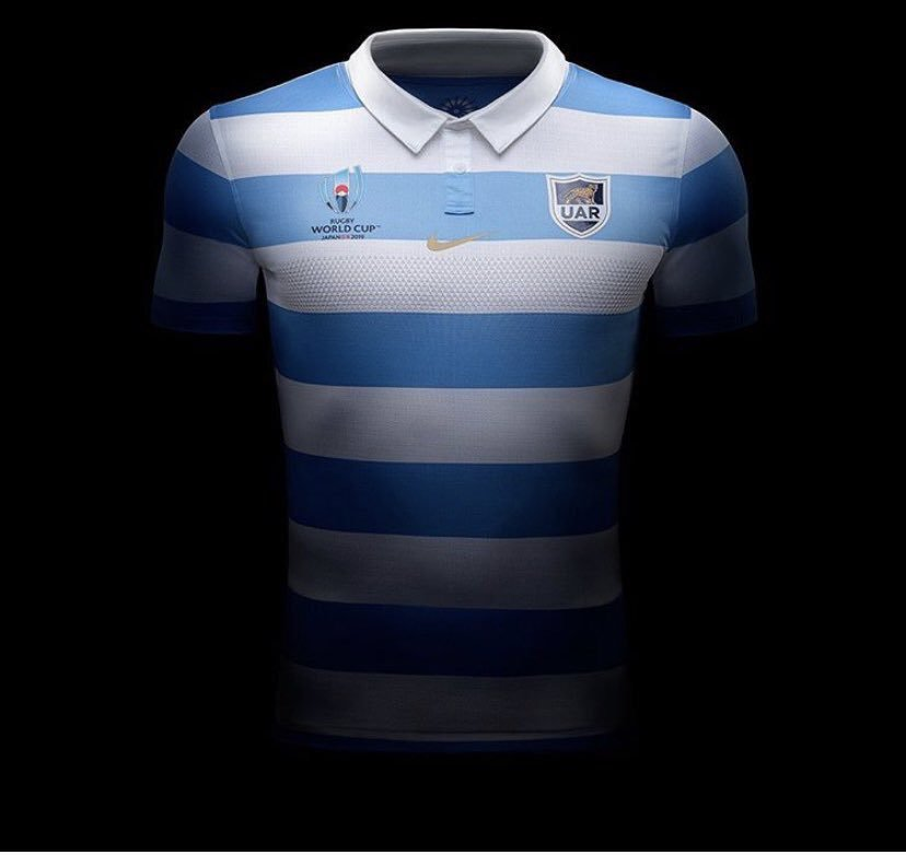 New Argentina RWC Jersey 2019
