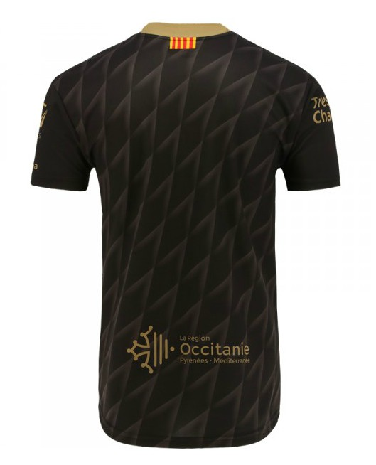 Back of Catalans Dragons Third Kit 2020