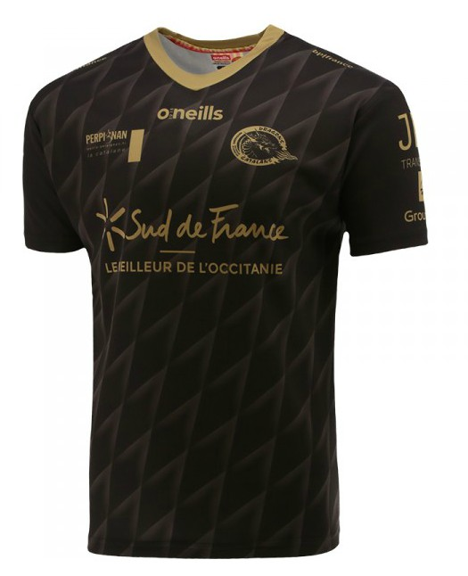 Black Catalans Dragons Shirt 2020