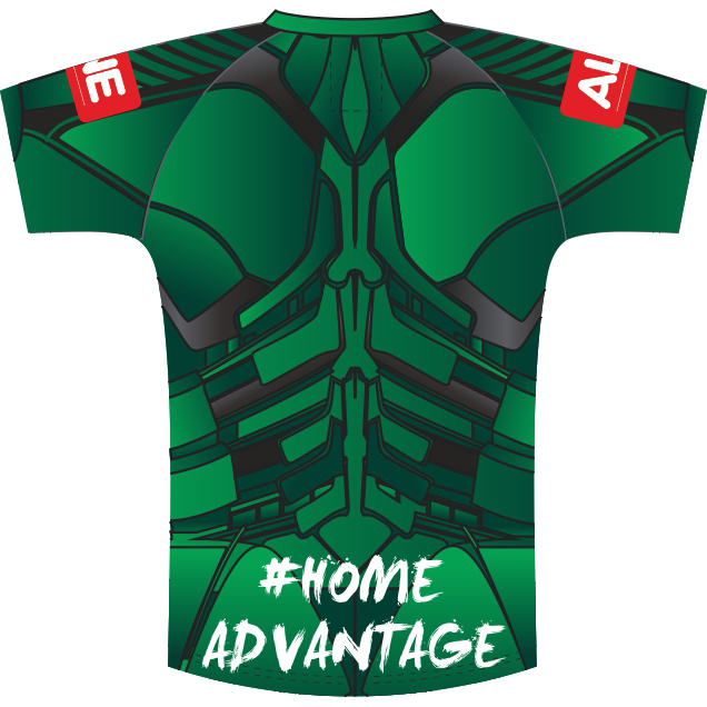 Back of Connacht Charity Jersey 2020