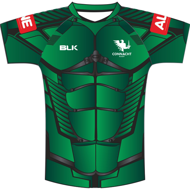 New Connacht Rugby Charity Shirt 2020 Covid Alone