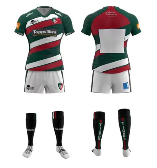 New Leicester Tigers Home Kit 2020-21 Samurai Sports